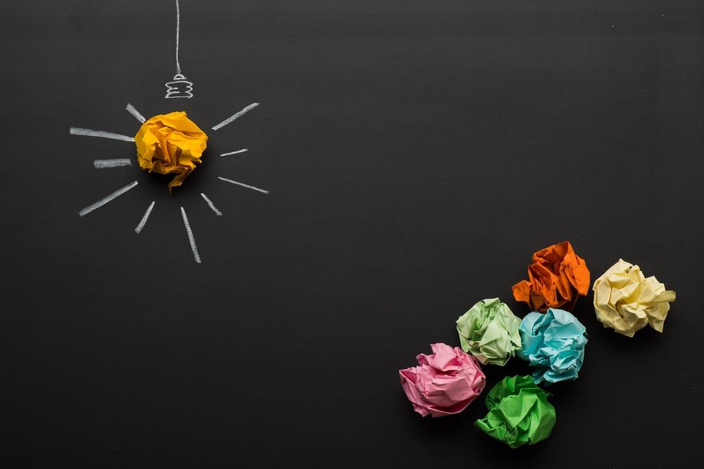 brouillons, idée, échec, réussite